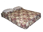 "Custom RV Bedspread For 8"" Thick Mattresses"