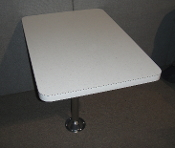 "38"" Wide Dinette Table Kit Off White Laminate"