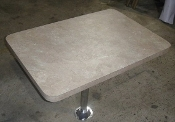 "38"" Wide Dinette Table Kit Beige Laminate"