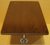 "43"" Wide Dinette Table Kit - Solid Wood Cognac Finish"